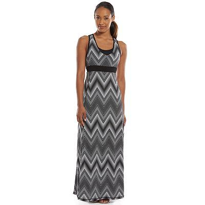 Tek Gear® DRY TEK Mesh Racerback Maxi Dress - Women's
