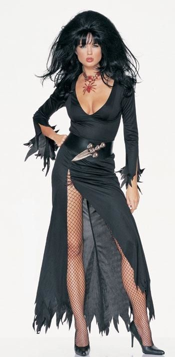 Elvira the haunted house (1988) available for hire sizes 10/12 and 14