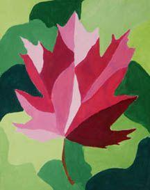 Leaf Designs    Paul J. Gelinas Junior High School Visual Arts Department