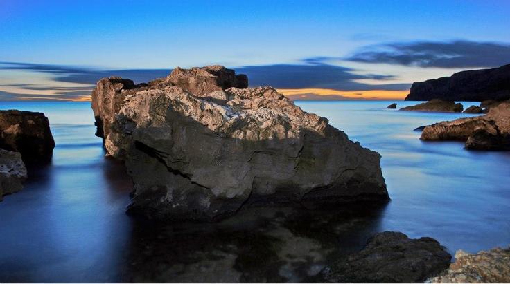 Denia beach view