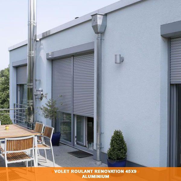RAL 7035? Volet Roulant Rénovation Aluminium 45 - Univers Menuiseries
