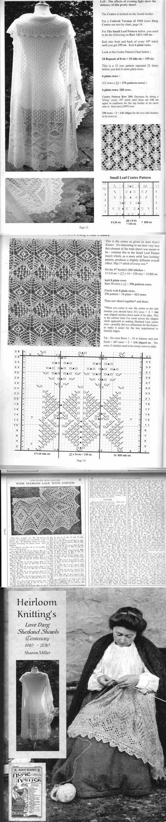 цитата Zinaida-k : Heirloom Knitting's Love Darg Shetland Shawls by Sharon Miller (14:58 21-05-2015) [3897121/362493793] - elena-50966@mail.ru - Почта Mail.Ru