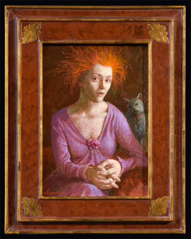 Kenne Gregoire - Girl with Red Hair