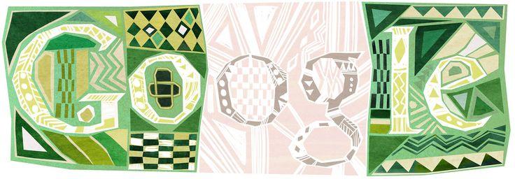 Nigeria Independence Day [День независимости Нигерии] /This doodle was shown: 01.10.2013 /Countries, in which doodle was shown: Nigeria