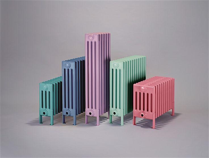 trend alert dusky pastels bisque radiators