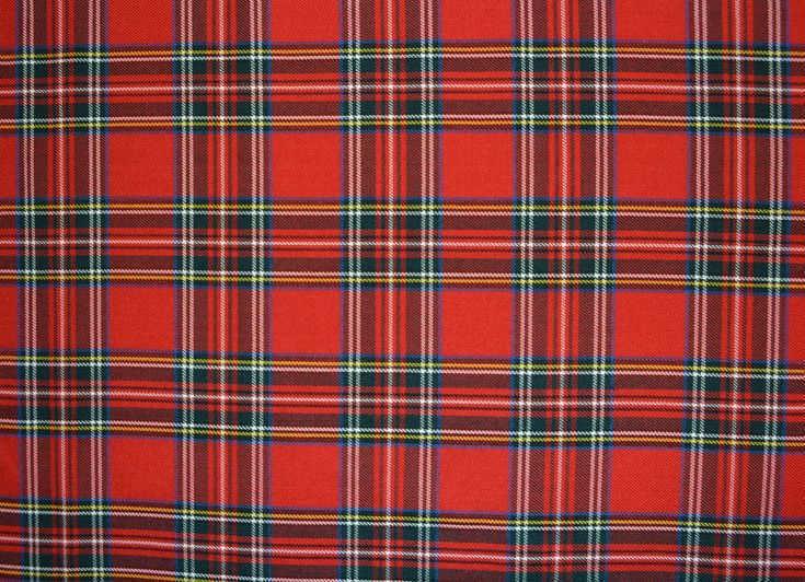 Tartan Royal Stewart Tartan Fabric World Fabric World