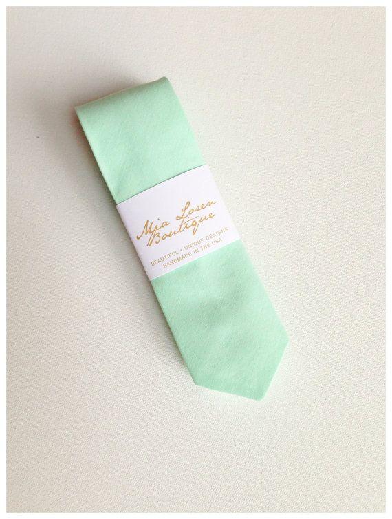 Men's Skinny Tie / Skinny Neck Tie / Wedding Ties / Mint, Seafoam, Peach, Grey, Mustard, Plum, 243 Colors
