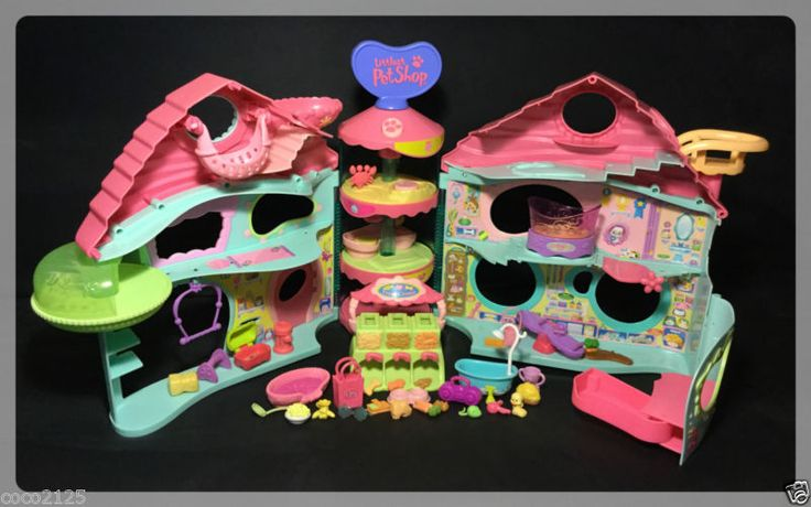 Littlest Pet Shop BIGGEST HOUSE PLAYSET & ACCESSORIES w/ 1 FREE RANDOM PET - http://hobbies-toys.goshoppins.com/preschool-toys-pretend-play/littlest-pet-shop-biggest-house-playset-accessories-w-1-free-random-pet/