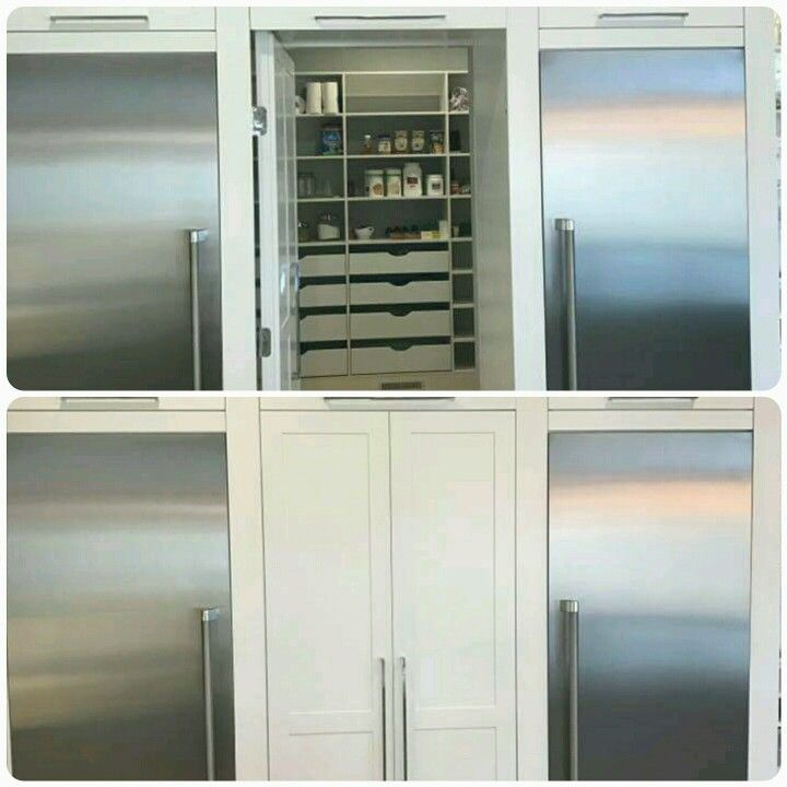 1000 Ideas About Hidden Pantry On Pinterest Pantries