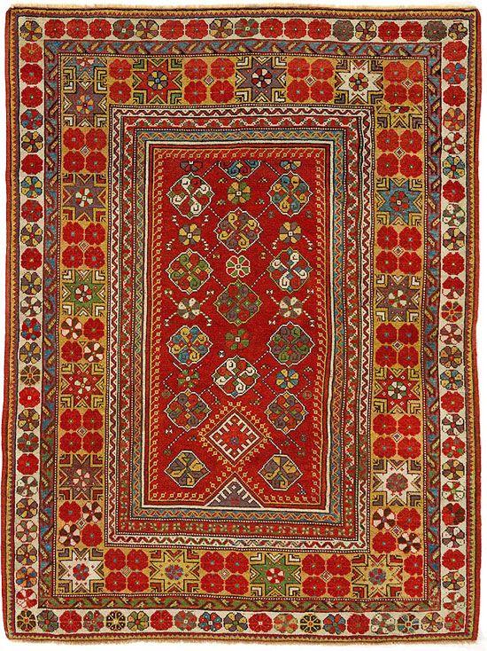 "ANTIQUE MELAS RUG  Turkey c1890     1.84m x 1.37m    6' 0"" x 4' 6"" I Robert Stephenson handmade carpets"