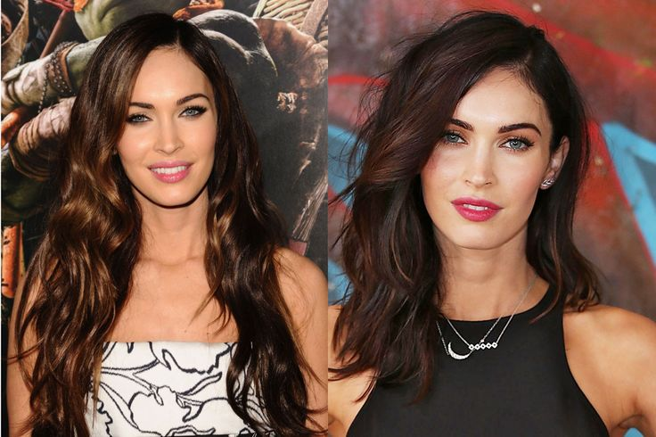 The color on the right!!! ... might need to re-color my hair.....Megan Fox