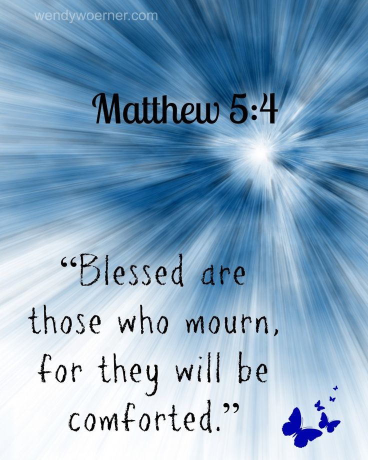 Find Comfort in Mourning www.wendywoerner.com Grab this #freeprintable bible verse for simple #encouragement that you can have #faith in God to comfort you in times of mourning!