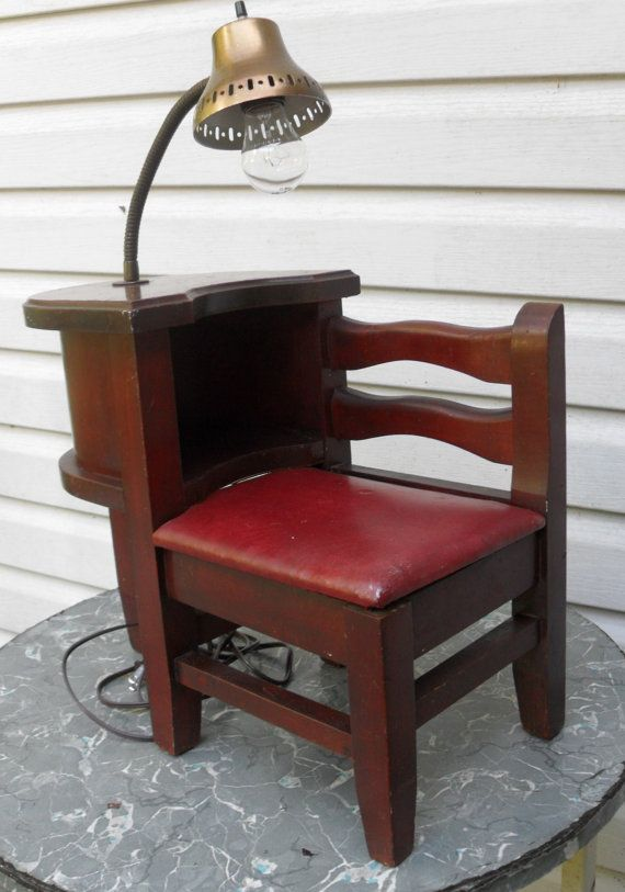 Vintage mahogany mini telephone gossip chair by MyHomeAntiques, $55.00 - 17  Best Images About Vintage - Antique Gossip Chair Antique Furniture