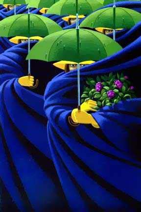 """""""Women of May""""  Artist  Claude Theberge"""