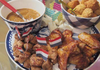 Recept voor feestelijke kiphapjes