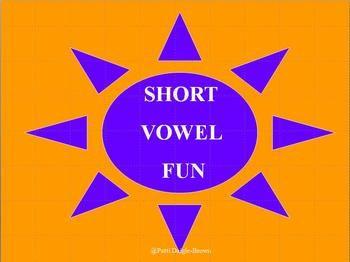 short vowel sound powerpoint presentations a e i o u