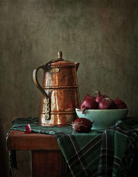 photo:С медным кувшином и красным луком ₪ by Lubov Pozmogova-Brosens