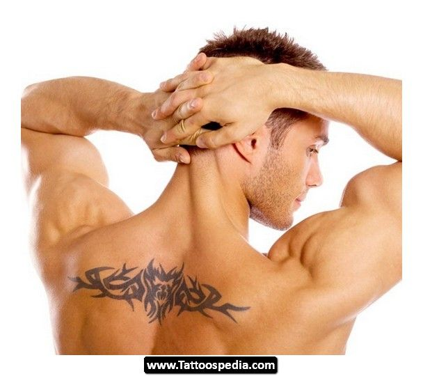 Back Tribal Tattoos For Men 07  - http://tattoospedia.com/back-tribal-tattoos-for-men-07/