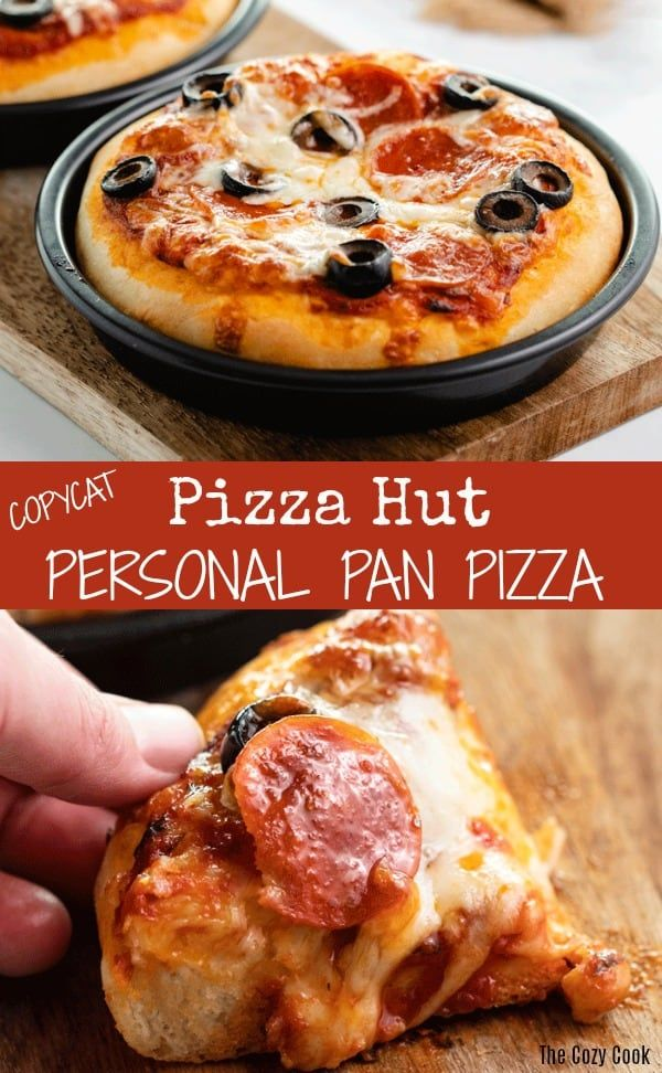 Now You Can Make Your Favorite Pizza Hut Personal Pan Pizzas From