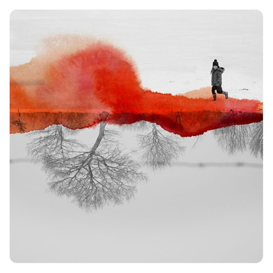 illustration combined with photography - Google Search