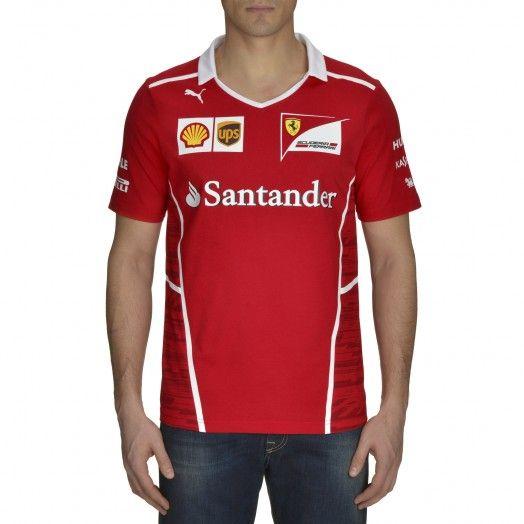 Ferrari Store: Mens Puma Team technical fabric T-Shirt. Shopping online the official Ferrari Store and buy Mens Puma Team technical fabric T-Shirt safely in just few easy steps.