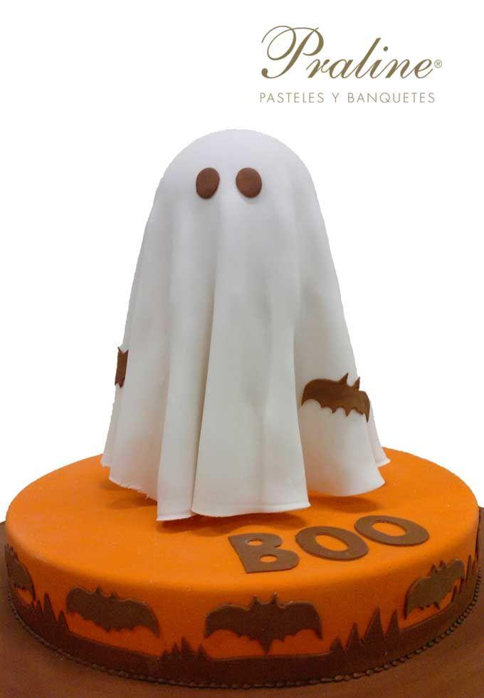 Pastel para halloween.   #Boo