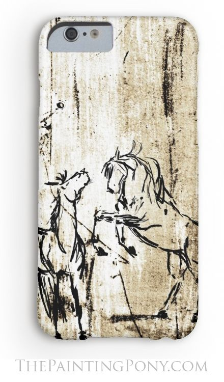 equestrian phone case - for samsung galaxy and iphone style phones. Love the rustic country western look of this case with the rearing wild horses artwork with the distressed ivory and black colors. Perfect for the horse lover who enjoys the rodeo, barrel racing, reining, cowgirl style horseback riding.