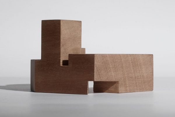 DRDH Architects - Wood massing architectural model