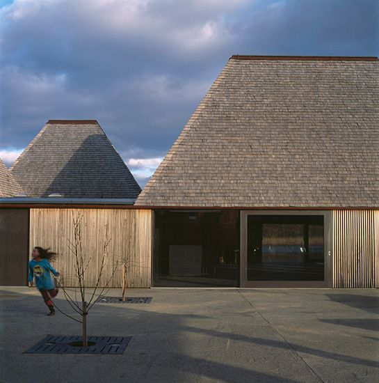 Brockholes Visitor Centre Preston UK  the Centre,  is already on track to becoming BREEAM Outstanding certified and will be zero-carbon.