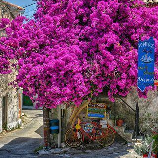 Corfu island Village Chlomos