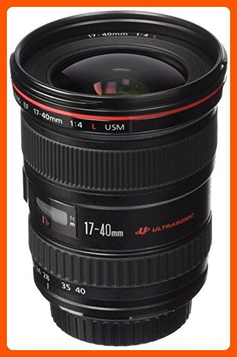 Canon EF 17-40mm f/4L USM Ultra Wide Angle Zoom Lens for Canon SLR Cameras - Photo stuff (*Amazon Partner-Link)