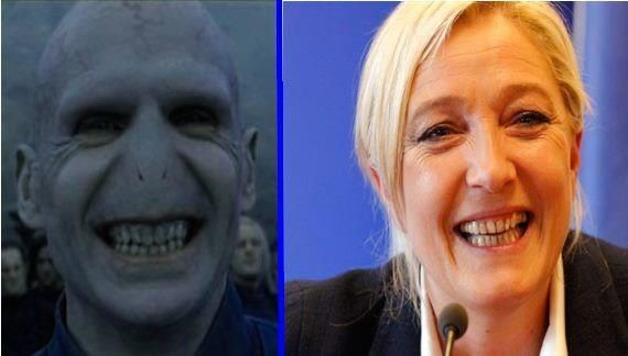 Quand marie le pen se demaquille on comprend bien ses intension.