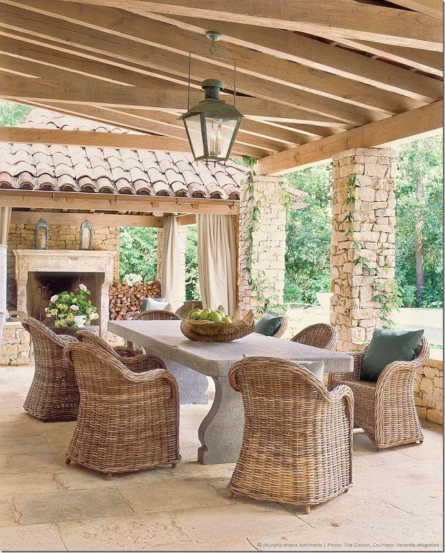 Belgian wicker chairs - Kooboo gray chairs from Cost Plus/World Market