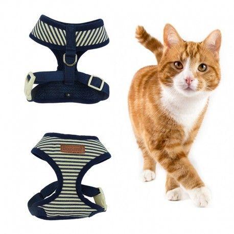 Komfortowe szelki bezuciskowe dla psa,kota, królika Marine