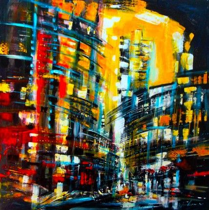 Gisele Boulianne- abstract cityscapes