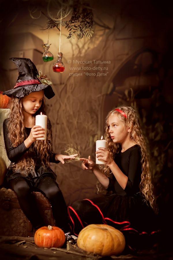 фотосессия хэллоуин
