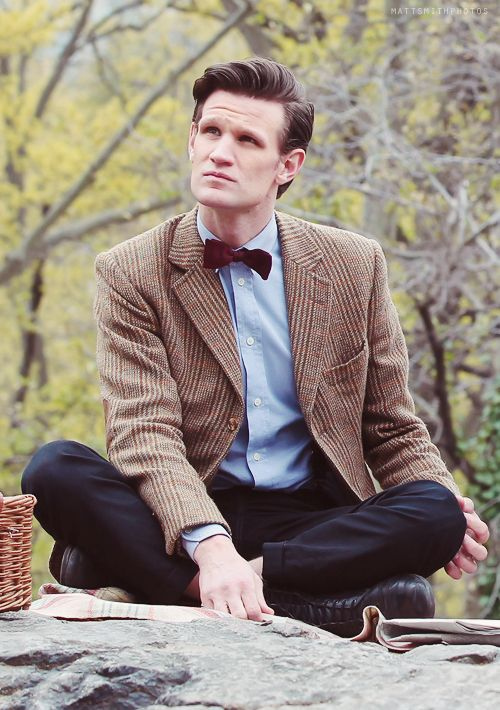"Eleven | Matt Smith | Doctor Who | Filming ""The Angels Take Manhattan"" in Central Park, NY"