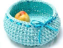 Korb häkeln - so gelingt es mit Textilgarn