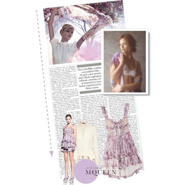 Inspired by Alexander McQueen, created by rubyyyred on PolyvoreAlexander Mcqueen, Summer Lovin, Polyvore Brianarenestor, Virtual Wardrobes