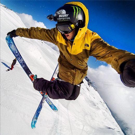 Extreme Sports: TOM WALLISCH #gopro #skiing #hookit