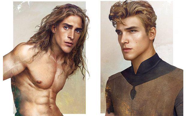 Artista faz versões realistas dos príncipes da Disney - Famosos - CAPRICHO