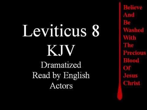 Leviticus 8 KJV