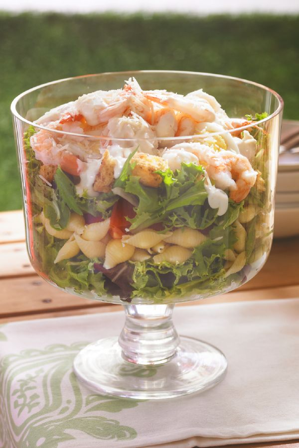 2327 best sides and salads images on pinterest salad for Prawn and pasta salad recipes