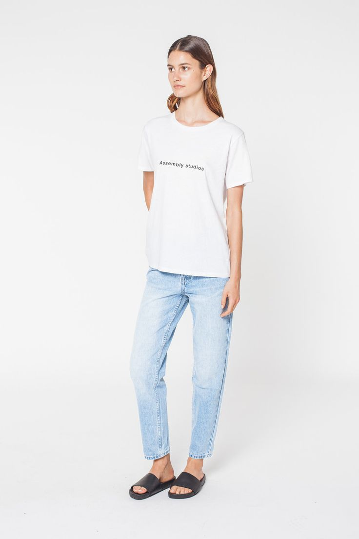 Assembly Label - High Waisted Jean
