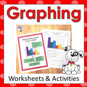 This primary graphing resource contains 50 pages of worksheets, posters, word wall words, a math center, and a test. It is ideal for second grade, but some activities can be used in first and third grades.