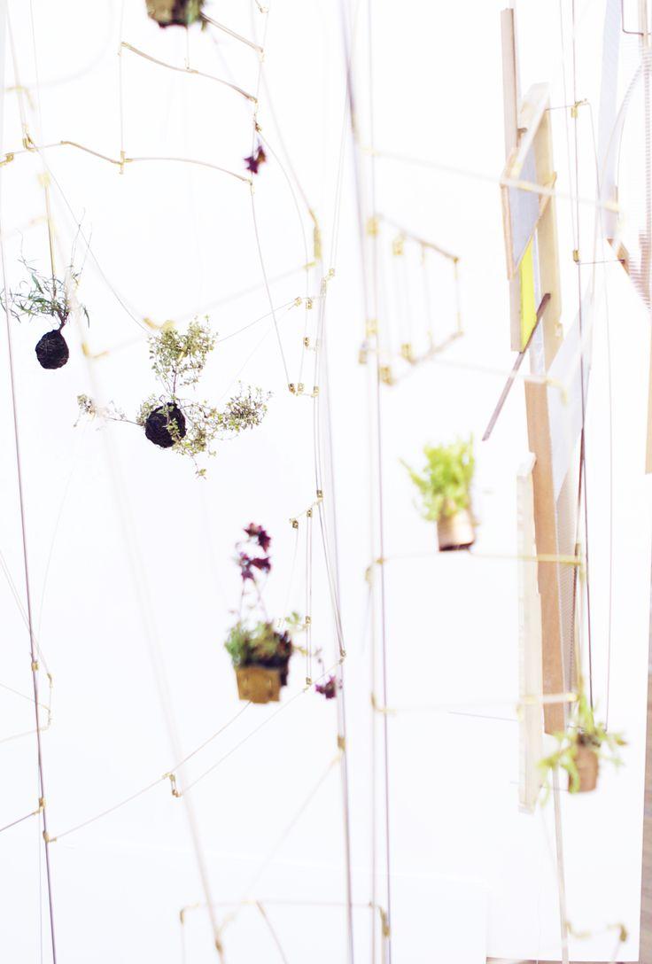 Kaja Sofie Skytte Jensen arbejder med planter, parkstrukturer og rumlige installationer på Statens Værksteder for Kunst. Feb. 2015 Tre projekter er i spil, når Kaja tjekker ind i atelieret på SVK. Med udgangspunkt i de svævende 'planteplaneter' udvikler Kajas projekt sig i flere retninger: Planteplaneterne som designobjekt til eksempelvis boligen Plantegalaksen som et mobilt system til offentlige institutioner, kontormiljøer m.m.