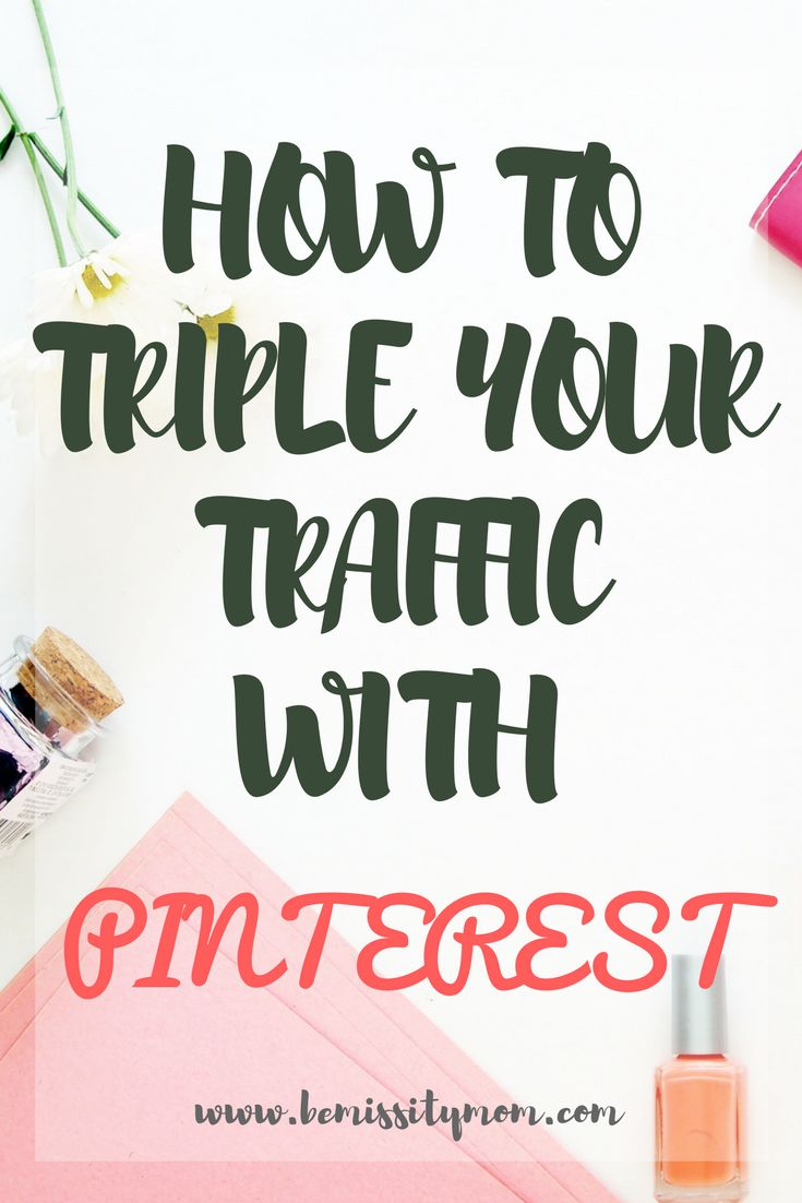 Here are my tips for using Pinterest which you can start implementing right now to increase your blog traffic, following and re-pins. #blogging #bloggingtips