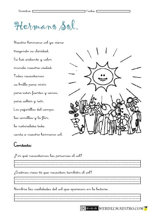 Lectura comprensiva Archivos - Página 3 de 4 - Web del maestro - Educación Infantil y Primaria