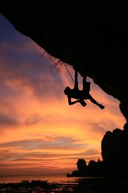 I haven't went Rock climbing in a long time! I feel a weekend trip coming