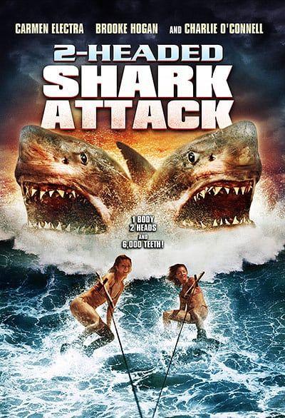 Shark Film Posters: 2 Headed Shark Attack